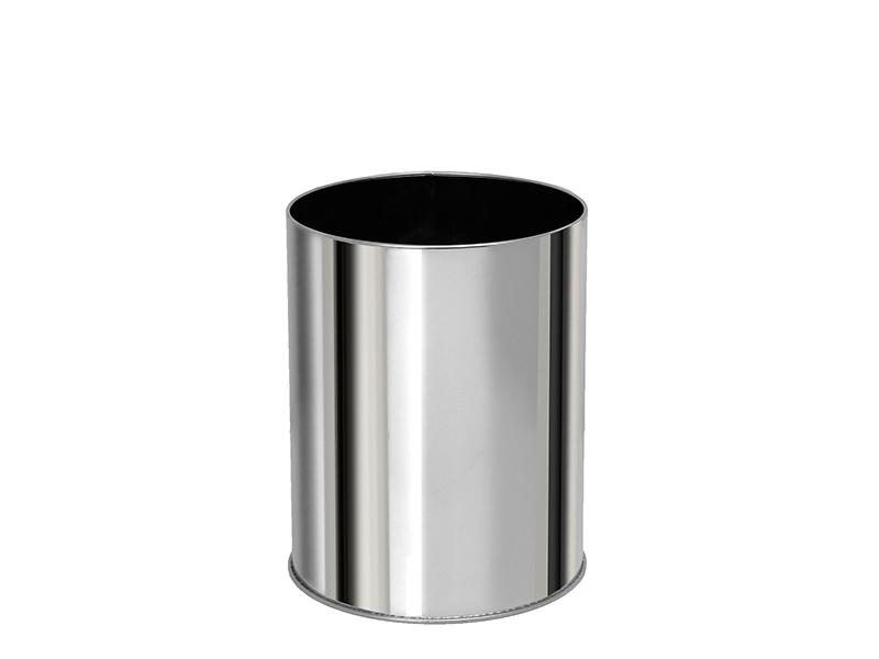 102327001 - Καλάθι Γραφείου 10 lit Inox