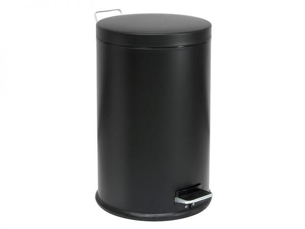 30700403 - Επαγγελματικός Κάδος Απορριμμάτων 30 Lit Μαύρο Ματ
