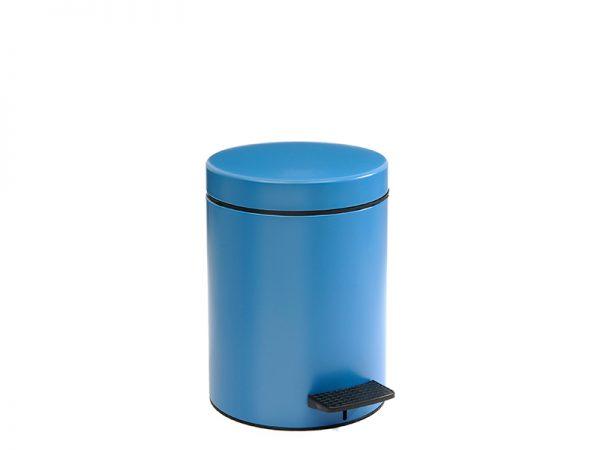 05096123 - Χαρτοδοχείο 5 lit Soft Close Μπλε Ματ
