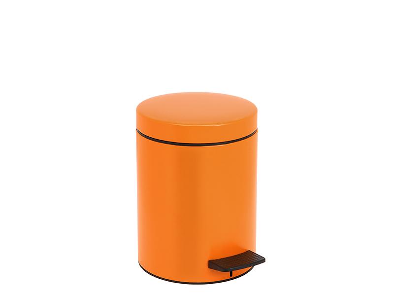05096803 - Χαρτοδοχείο 5 lit Soft Close Πορτοκαλί Ματ