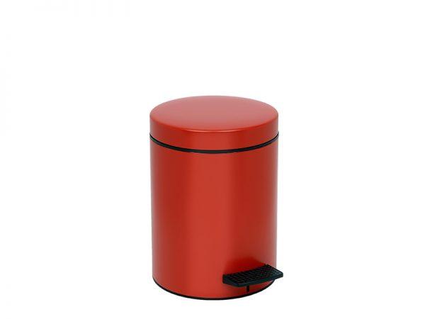 05096503 - Χαρτοδοχείο 5 lit Soft Close Κόκκινο Ματ