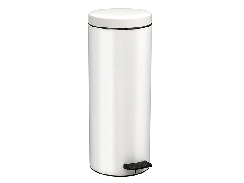 162053033 - Χαρτοδοχείο 16 lit Soft Close Λευκό Ματ