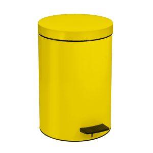 12090603 - Χαρτοδοχείο 12lit Κίτρινο