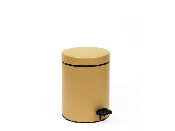 03605173 - Χαρτοδοχείο 3 lit Soft Close Χρυσό Ματ