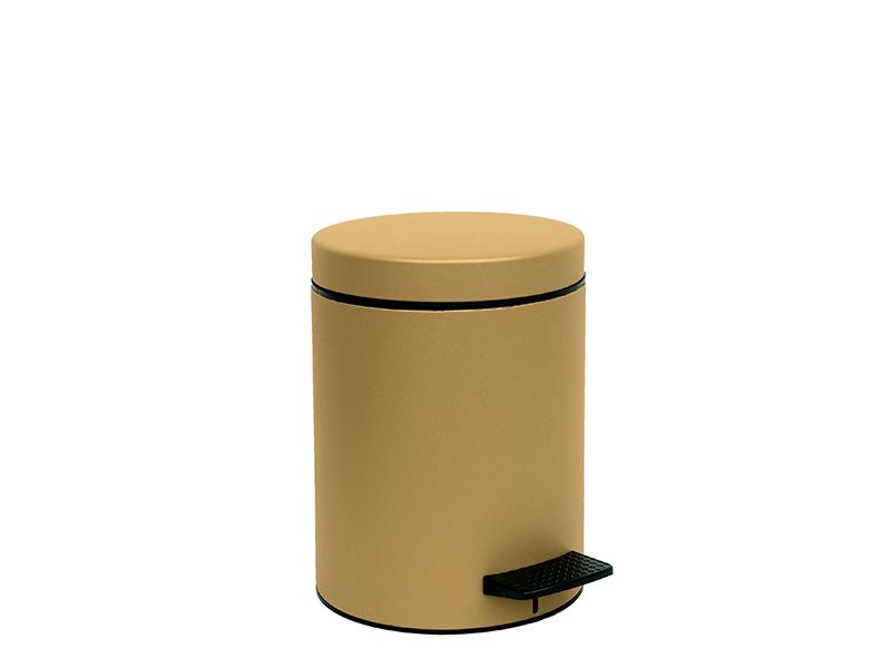 05096173 - Χαρτοδοχείο 5 lit Soft Close Χρυσό Ματ