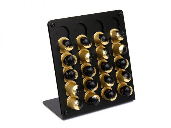SD100403 - Θήκη για Κάψουλες Καφέ Μαύρο Ματ