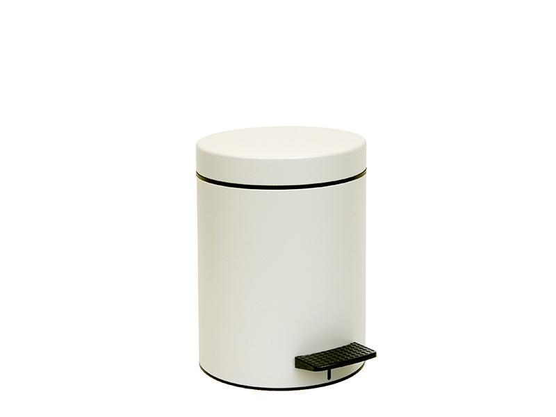 05096034 - Χαρτοδοχείο 5 lit Soft Close Λευκό Ματ
