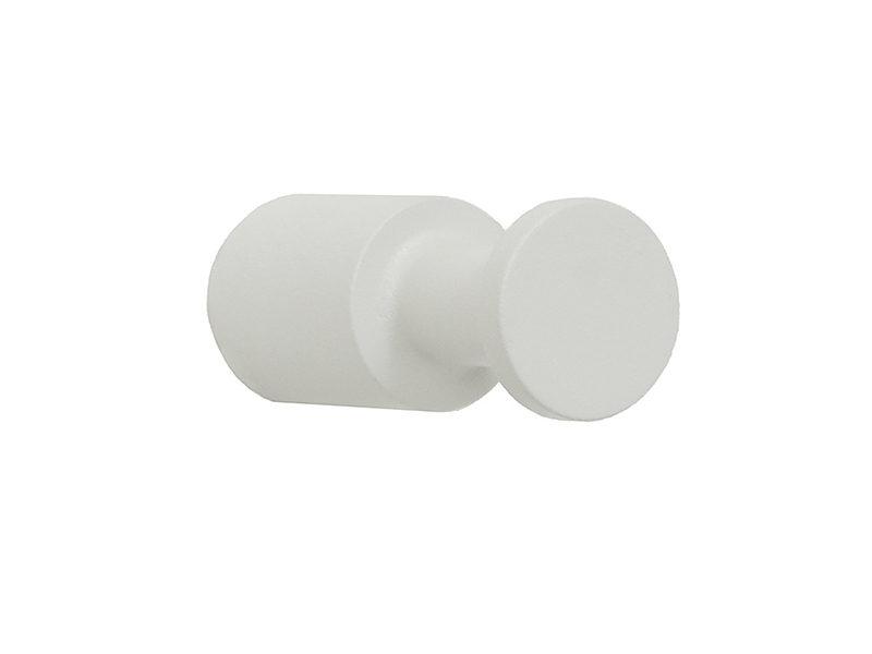 10034 - Άγκιστρο Μονό Λευκό Ματ