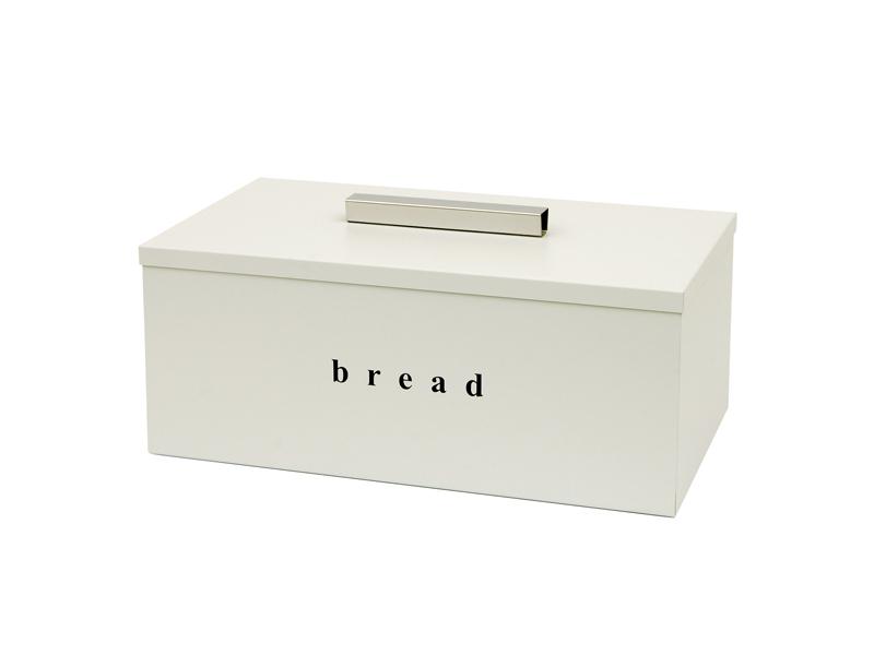 402216033 - Ψωμιέρα με Καπάκι Λευκή Ματ