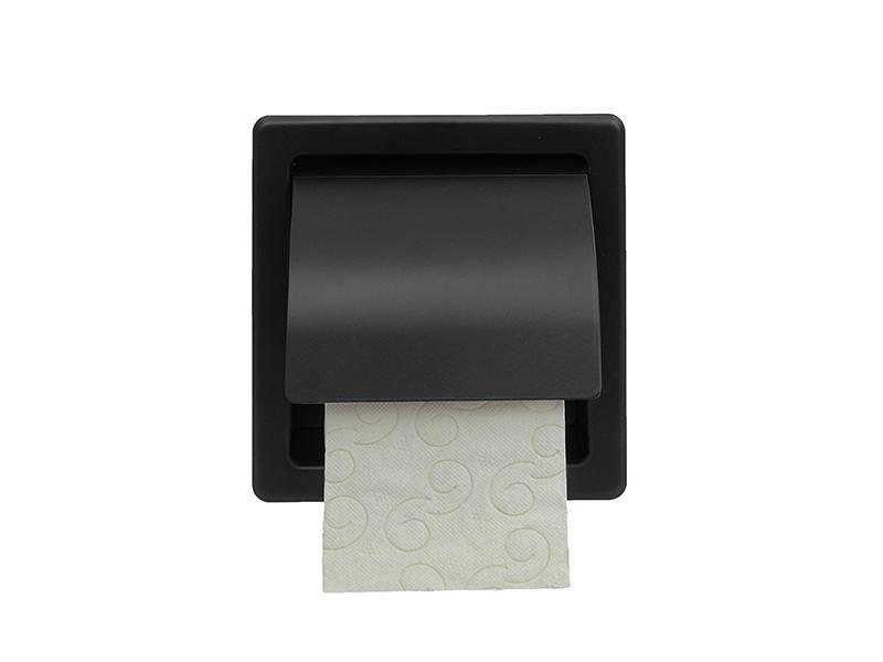109403 - Χαρτοθήκη με Καπάκι Μαύρη Ματ