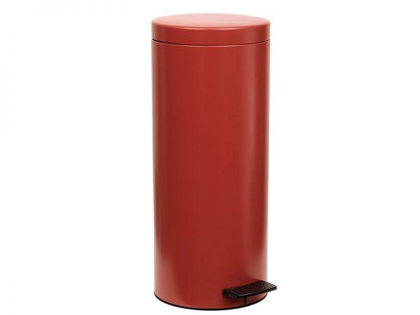 162053503 - Χαρτοδοχείο 16 lit Soft Close Κόκκινο Ματ