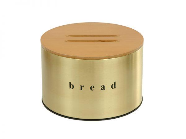 092518023- Ψωμιέρα χρυσή ματ