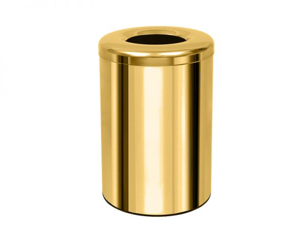 182536K024 - Καλάθι Απορριμμάτων Γραφείου Δωματίου Χρυσό