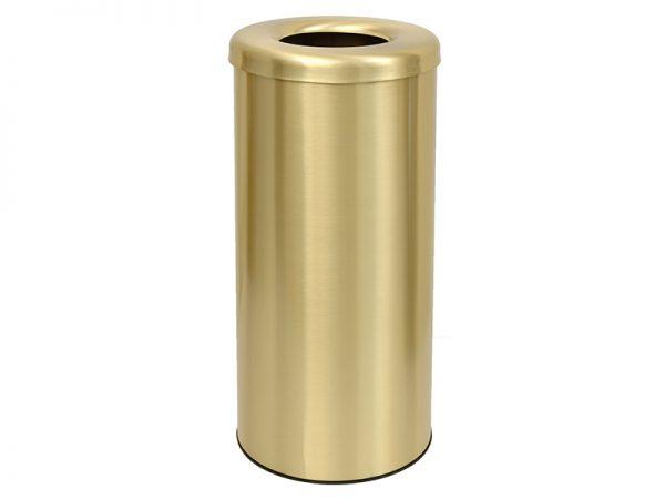 302557023 - Κάδος απορριμμάτων 30lit χρυσό ματ