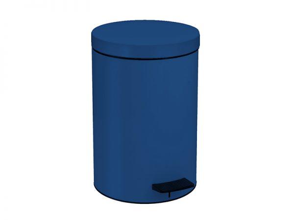 12090203 - Χαρτοδοχείο 12lit Μπλε Σκούρο