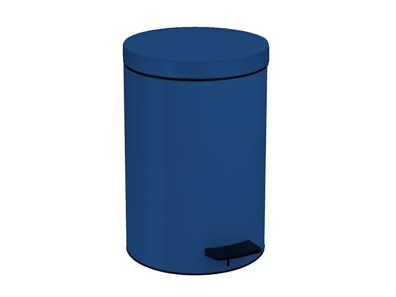 12090203 - Χαρτοδοχείο 12 lit Μπλε Σκούρο Ματ