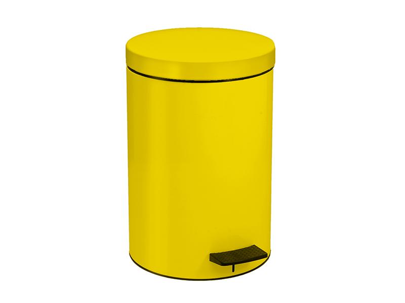 12090603 - Χαρτοδοχείο 12 Lit Κίτρινο