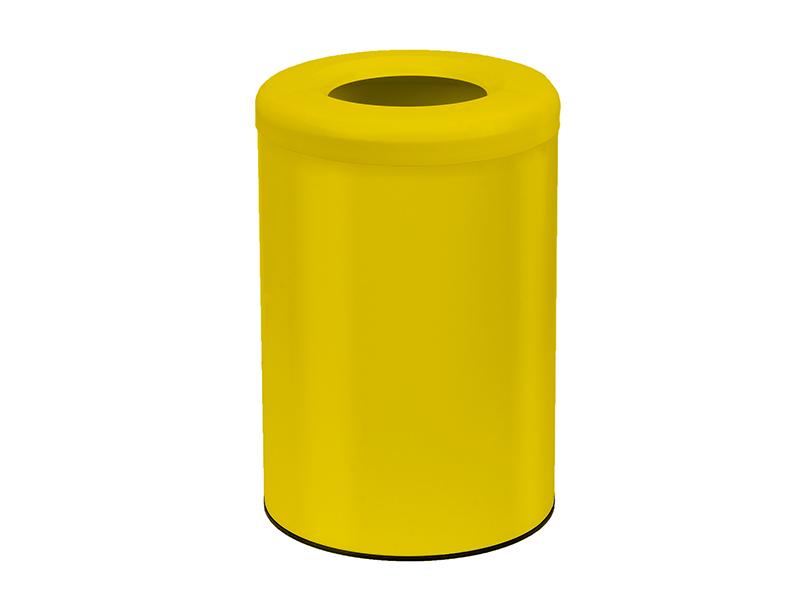 182536K603 - Καλάθι Γραφείου Δωματίου Κίτρινο