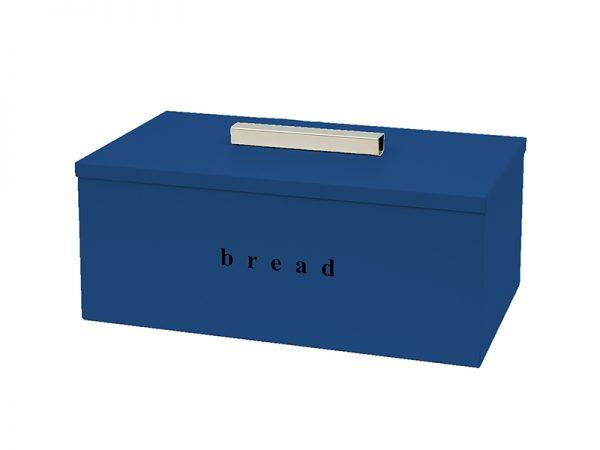 402216203 - Ψωμιέρα Τετράγωνη Μπλε Σκούρο Ματ