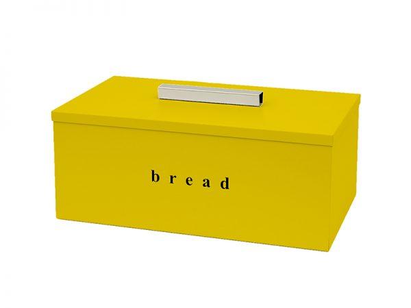 402216603 - Ψωμιέρα Τετράγωνη Κίτρινη