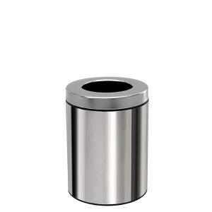 1825001 - Κάδος Απορριμμάτων Πάγκου 3 Lit Inox